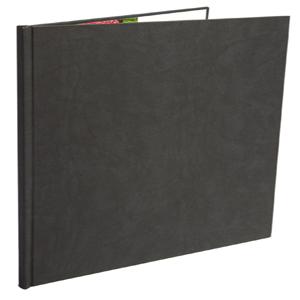 12x12 Black Suede Photo Book