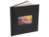 8x8 with Photo Window -  black-seude-photo-book-window-8-8 - $29.99 -