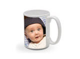 White Mug - 15oz -  ceramic-mug-15-oz - $15.99 - designer themes available