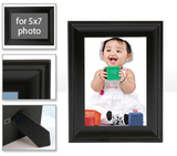 Black Table Frame -  frame-5x7-black-lexington - $20.99 - includes photo inside frame