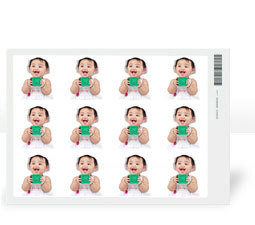 Rectangular Stickers�