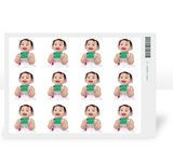Rectangular Stickers -  rectangular-stickers-20-pk - $5.99 - designer themes available