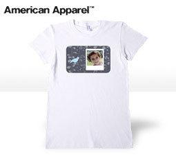Ladies White Trendy T-shirt
