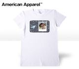 Ladies White Trendy T-shirt -  women-fashion-white-tee-small - $24.99 - sizes S-XL, designer themes