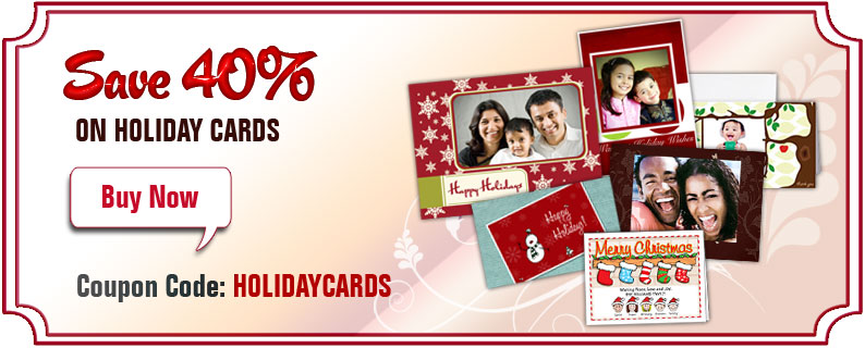 Holiday Special - 40% Off Holiday Cards